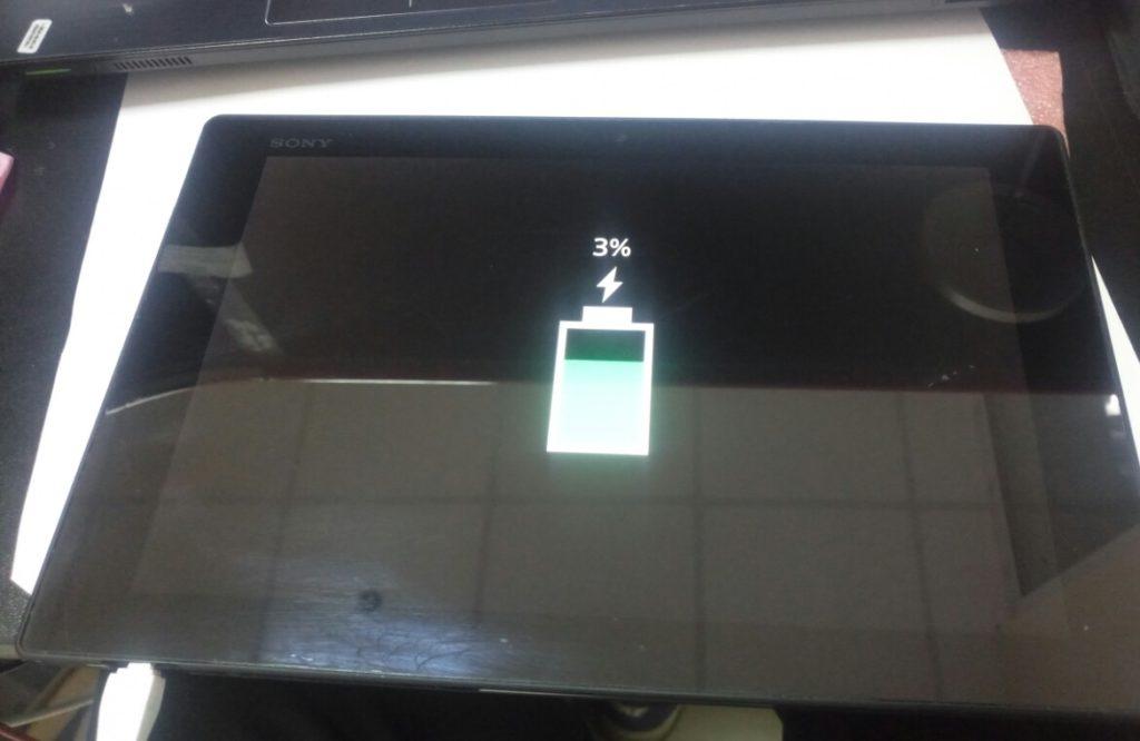 замена гнезда питания на планшете SONY tablet Z SGP3111 в Киеве на Троещине