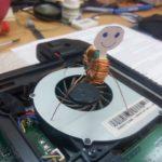 У мастера по ремонту ноутбука свободная минутка