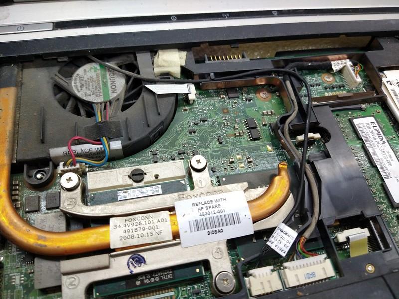 чистка от пыли HP EliteBook 6930 в Киеве на Троещине